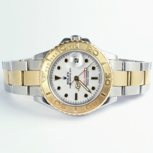 Rolex Yachtmaster Lady 750 - 18K / Stahl